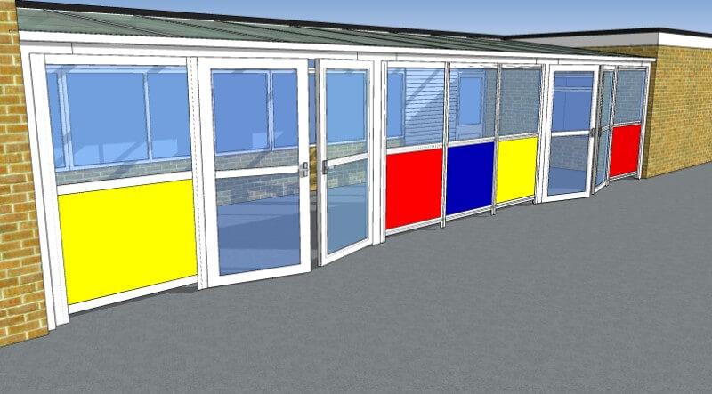 Houghton Regis Infill Panels & Doors (2)